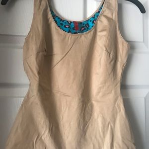 SPANX NUDE LRG. Control camisole top. NWOT